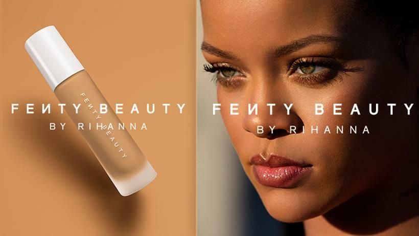 (+VÍDEO)Rihanna presentó su nuevo maquillaje
