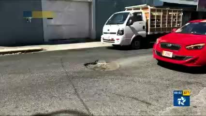 Huecos en San José
