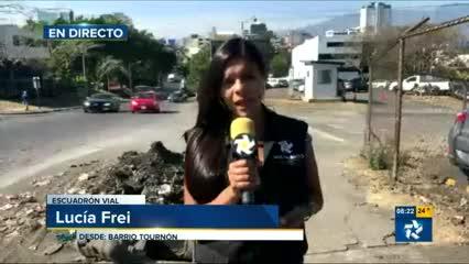Escombros en Barrio Tournón