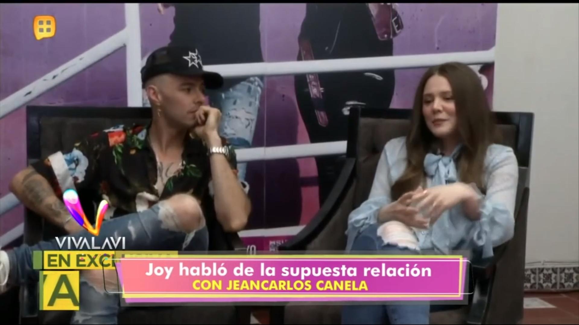 (+VIDEO) Joy afirmó su relación con Jean Carlos Canela