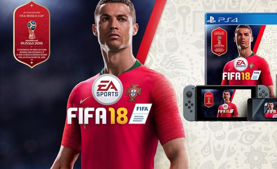 (+VIDEO) Con Cristiano deportada,FIFA 18 anuncia actualización