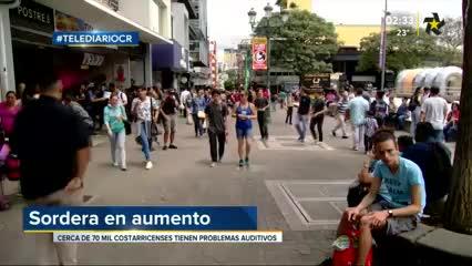 (+VIDEO) Al menos 70 mil costarricenses poseen problemas de audición