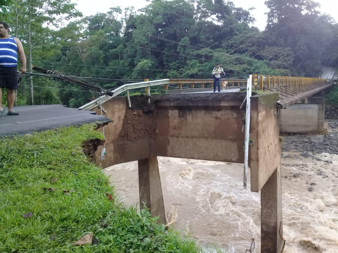 Foto: Carreteras Costa Rica.
