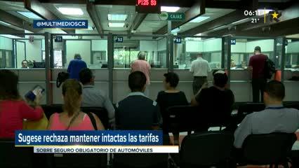 (+VIDEO) Sugese rechaza solicitud del INS de mantenertarifas del seguro obligatorio de vehículos