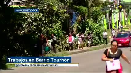 (+VIDEO) Inician trabajos del AyAen Barrio Tournón