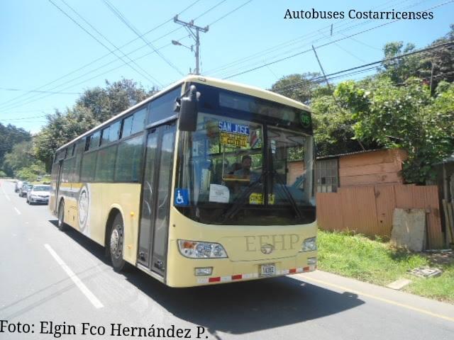 Foto: Autobuses costarricenses