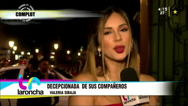 (+VIDEO) Valeria Sibaja se siente decepcionada de sus compañeros