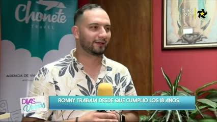 (+VIDEO) Ronny es un emprendedor que sueña en grande
