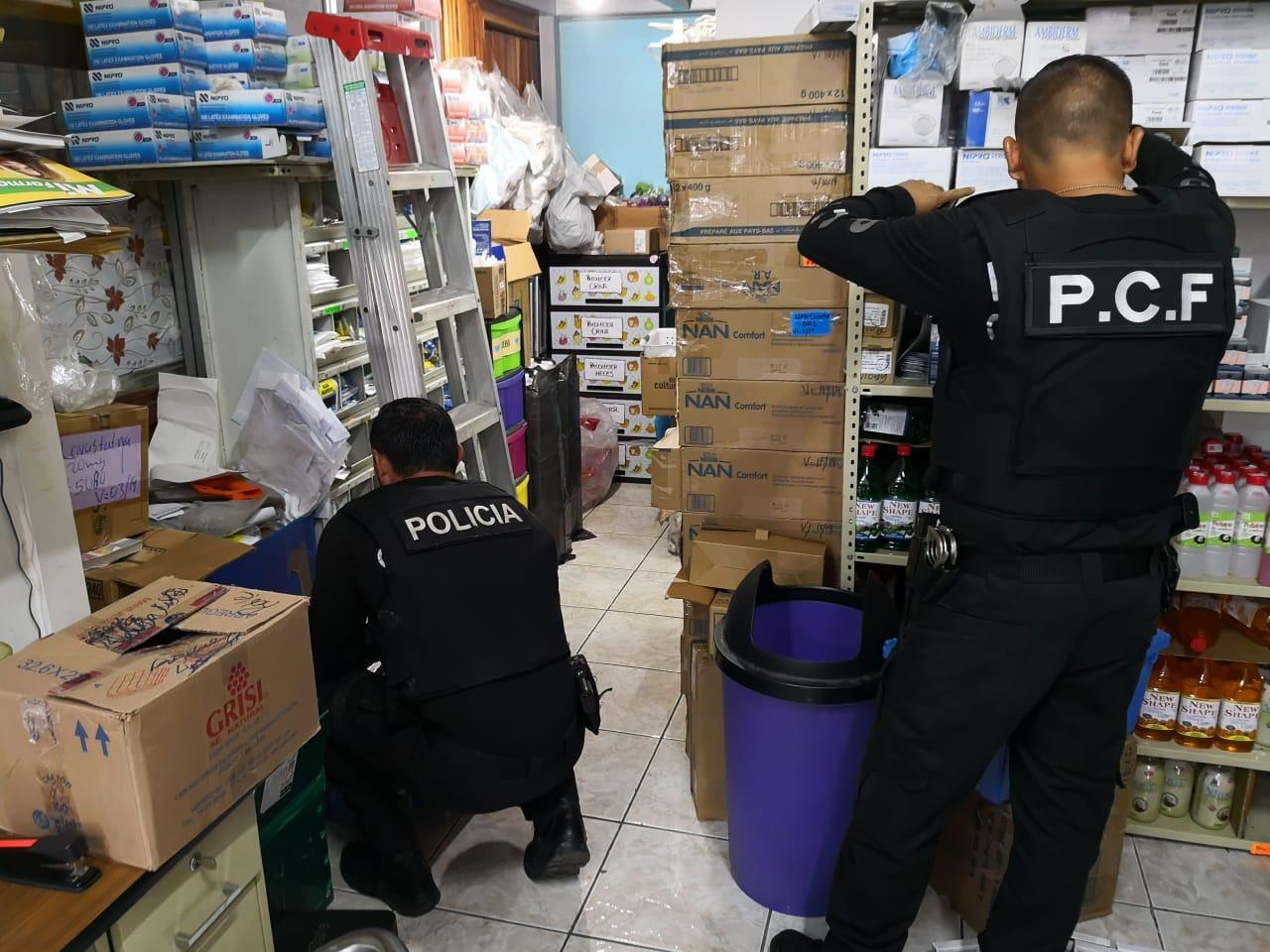 Foto: Policía de Control Fiscal