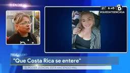 Madre de Luany Salazar asegura que le dijeron