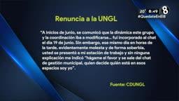 UNGL: Empleado renuncia por supuestas irregularidades de la entidad