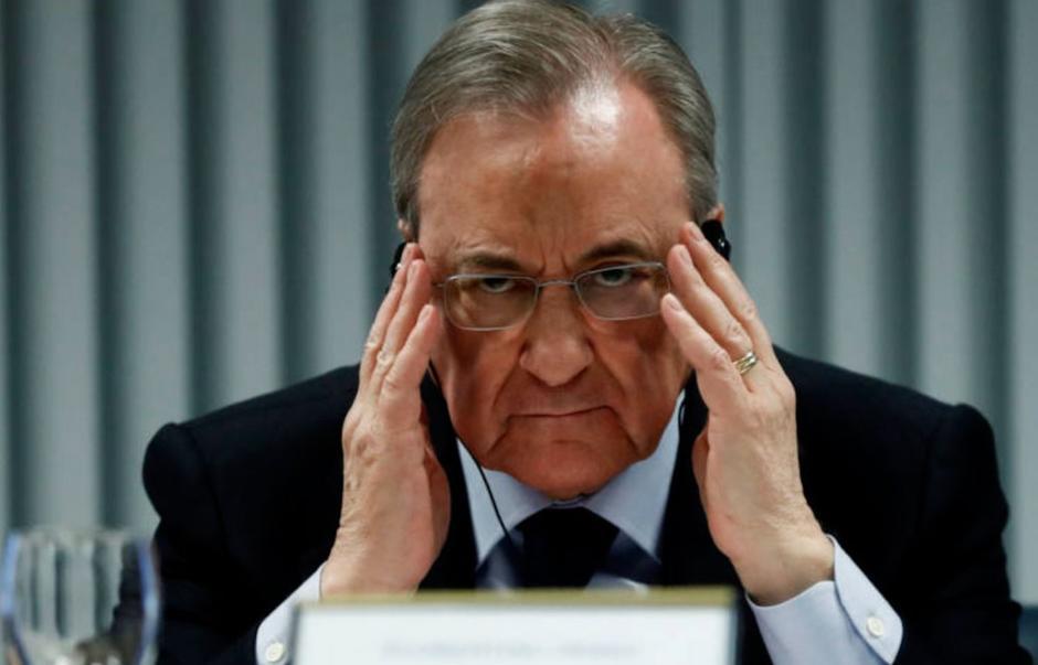 Florentino Pérez: Clubes no pueden salirse de Superliga