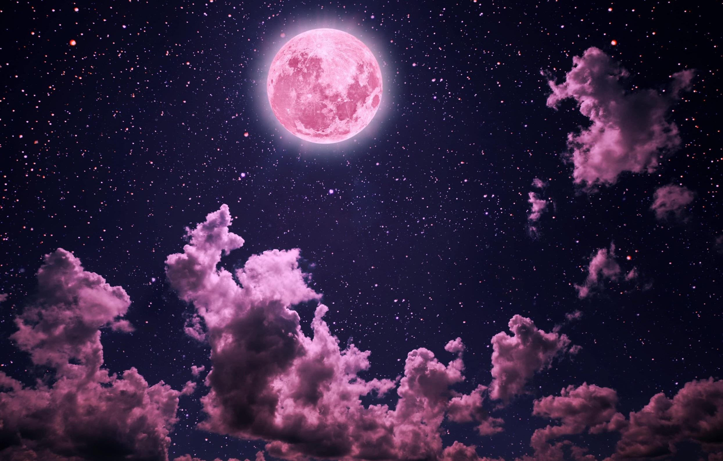 Superluna rosa: ¿Cómo y cuándo verla desde Costa Rica? Foto: Ecosfera.