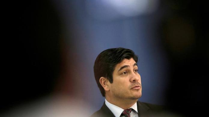 Carlos Alvarado rinde informe de labores ante el Congreso