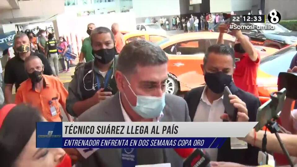 Llega Luis Fernando Suárez, nuevo  DT de Costa Rica