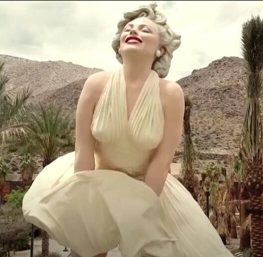 Estatua de Marilyn Monroe colocada en Palm Springs (Foto: Reuters)