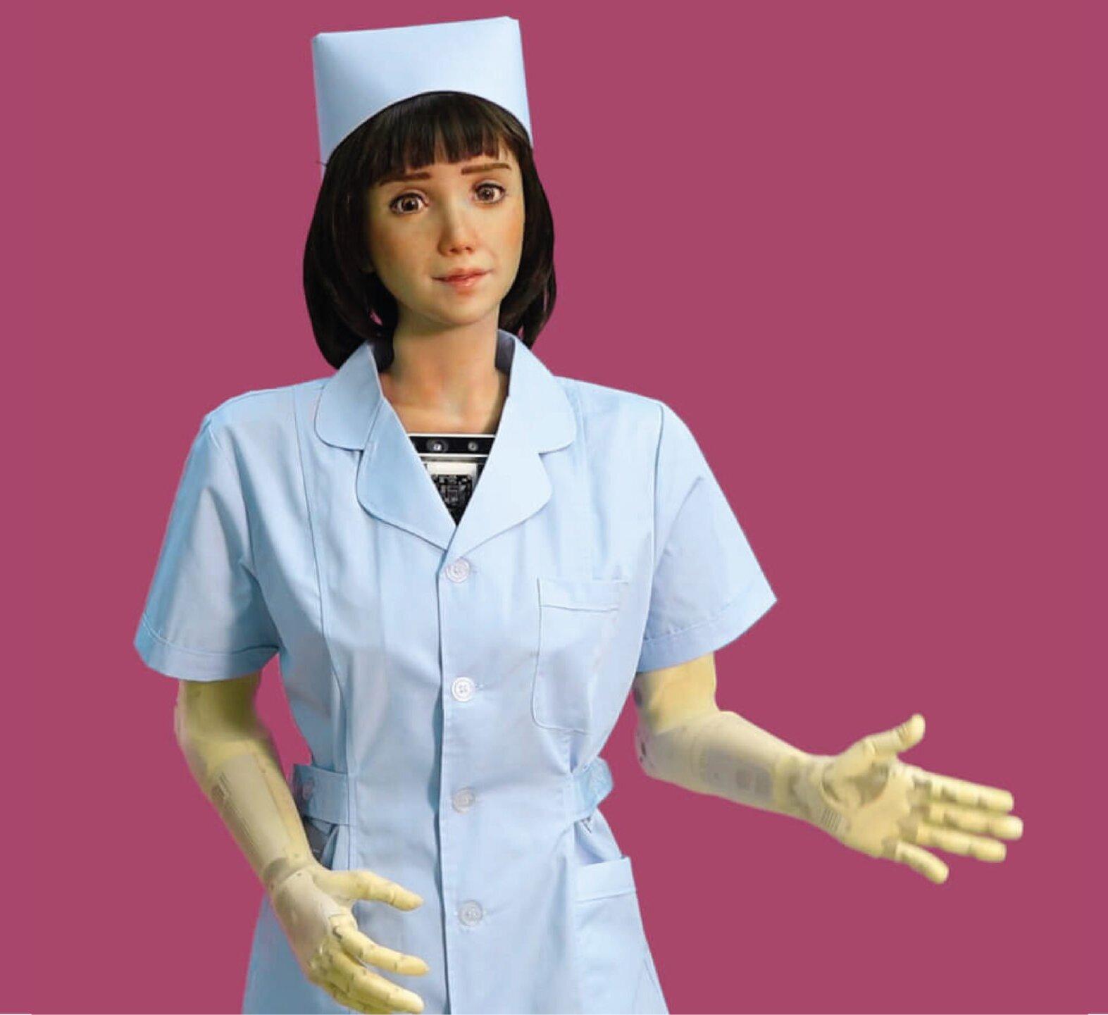 Primera enfermera robot para pacientes Covid-19