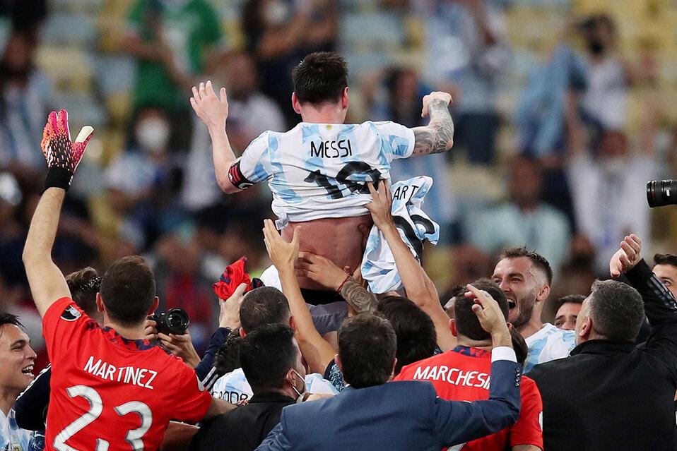 Messi participó en casi todos los tantos del equipo. (Foto: Reuters)