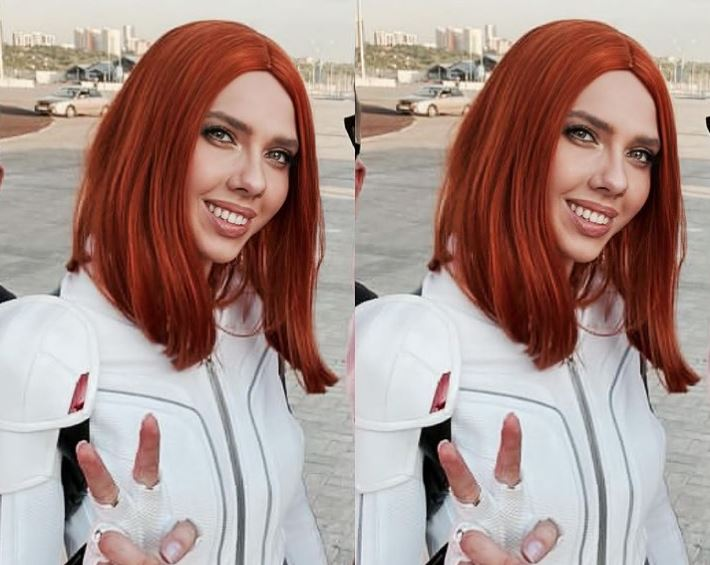Mujer deja su trabajo para imitar a Scarlett Johansson