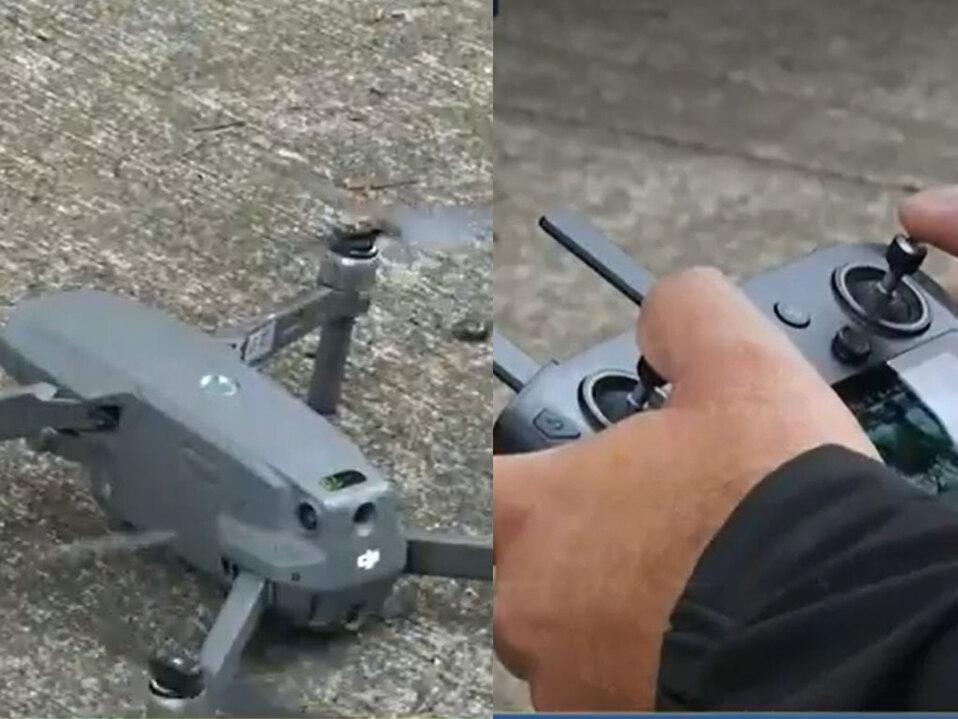 Delincuentes usan drones para tachar vehículos en Heredia