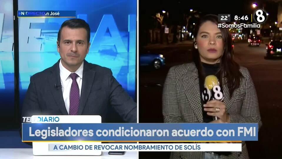 Noticias Telediario, con Douglas Sánchez 14 de julio de 2021