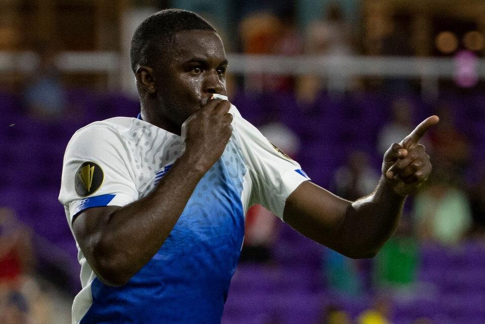 Costa Rica se impone ante Surinam en la Copa Oro. (Foto: Concacaf)