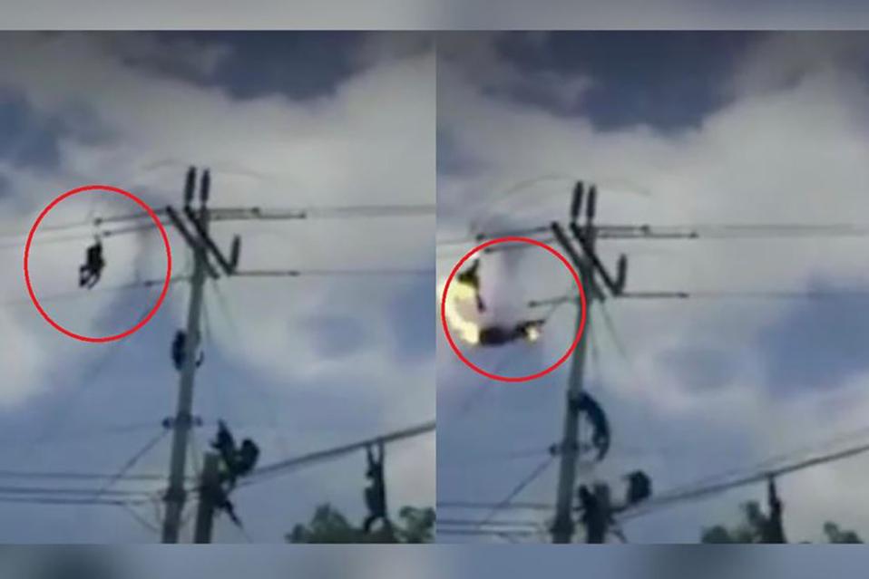 El video se viralizó en redes sociales. (Foto: Captura)