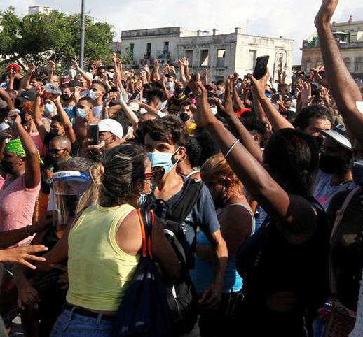 El canciller cubano culpó a mercenarios financiados por Estados Unidos por las protestas. (Foto: Reuters)