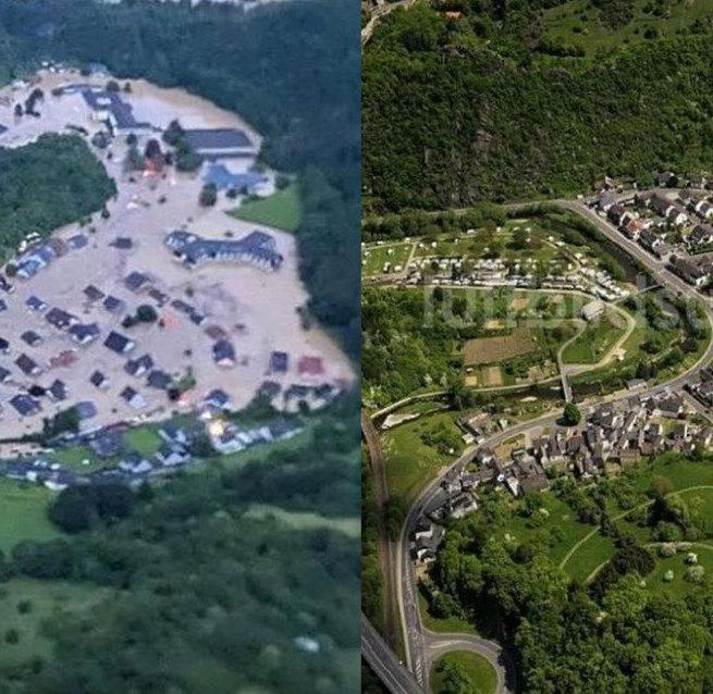 Lluvias en Europa dejan fallecidos y desaparecidos
