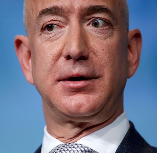 Jeff Bezos, fundador de Blue Origin y CEO de Amazon.