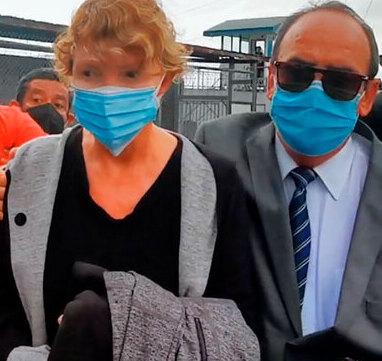 Salida de Mélida Solís de la cárcel de mujeres Vilma Curling tras caso Cochinilla