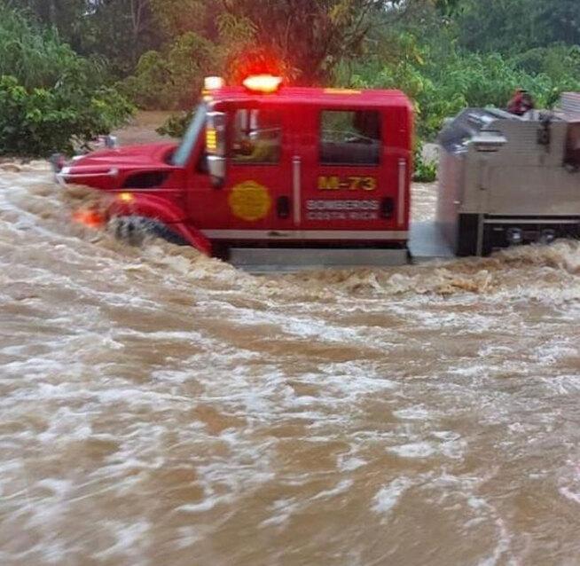 Activan alarmas de precaución por peligro de inundación en Upala