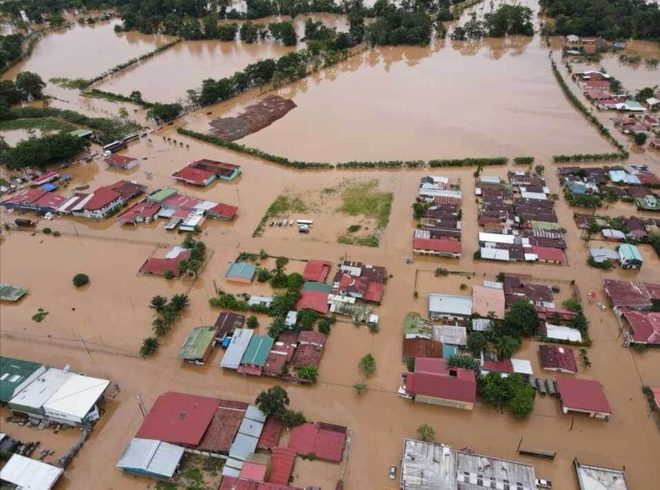 Alerta Roja. Upala, Guatuso y San Carlos declarados inundados por lluvias.
