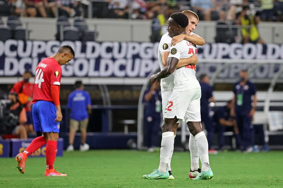 Canadá eliminó este domingo a Costa Rica.