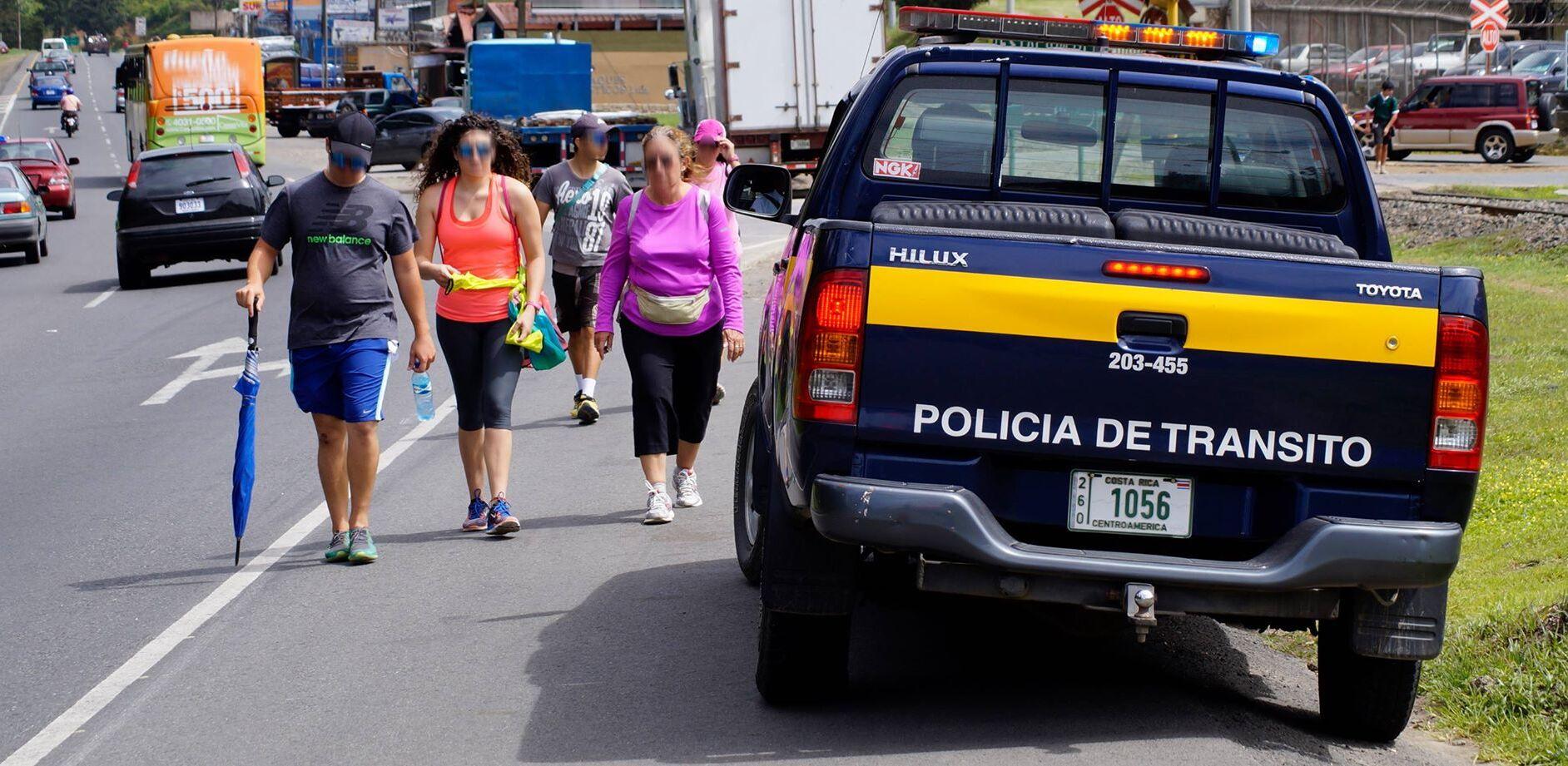 Fuerza Pública reporta cuatro personas asaltadas y unaatropelladadurante la romería