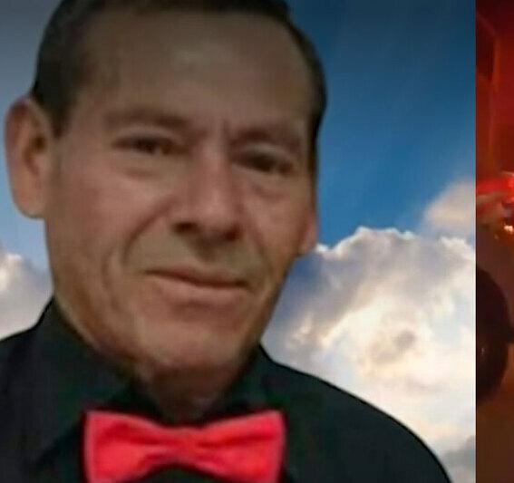 Abel Vargas, taxista de 65 años.