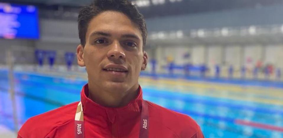El nadador costarricense agradeció el apoyo. (Foto: CONCRC)