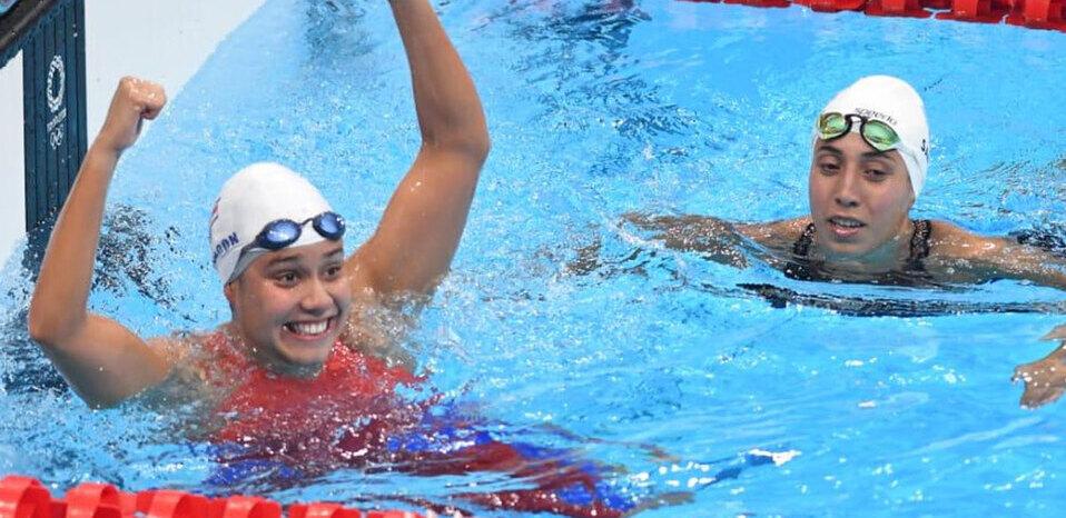 Nadadora tica Beatriz Padrón le responde a periodista en Twitter por cuestionamientos en Tokio 2020
