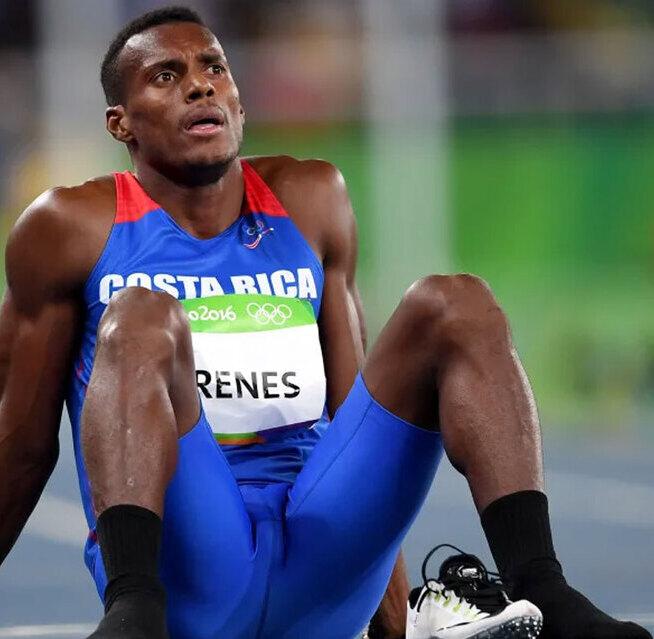 Nery Brenes ha sido el mejor corredor en la historia de Costa Rica. (Foto: Olimpiadas)