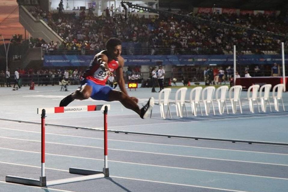Atleta tico corrió en las olimpiadas de Tokio 2020 con fractura. (Foto: Gerald Drummond)