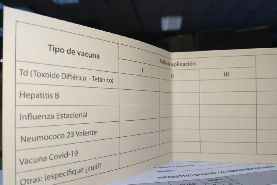 Certificación de vacunas para ingresar a comercios