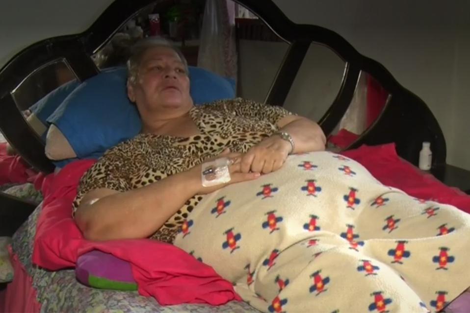 Mujer recibió ayuda de muchas personas luego de dar a conocer su caso en Noticias Telediario