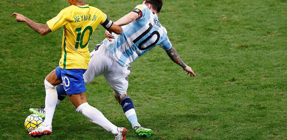 Messi y Neymar son los mejores jugadores de la Copa América. (Foto: Reuters)