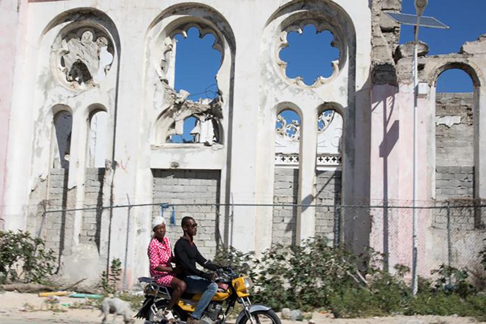 El sismo fue de magnitud 7. (Foto: Reuters)