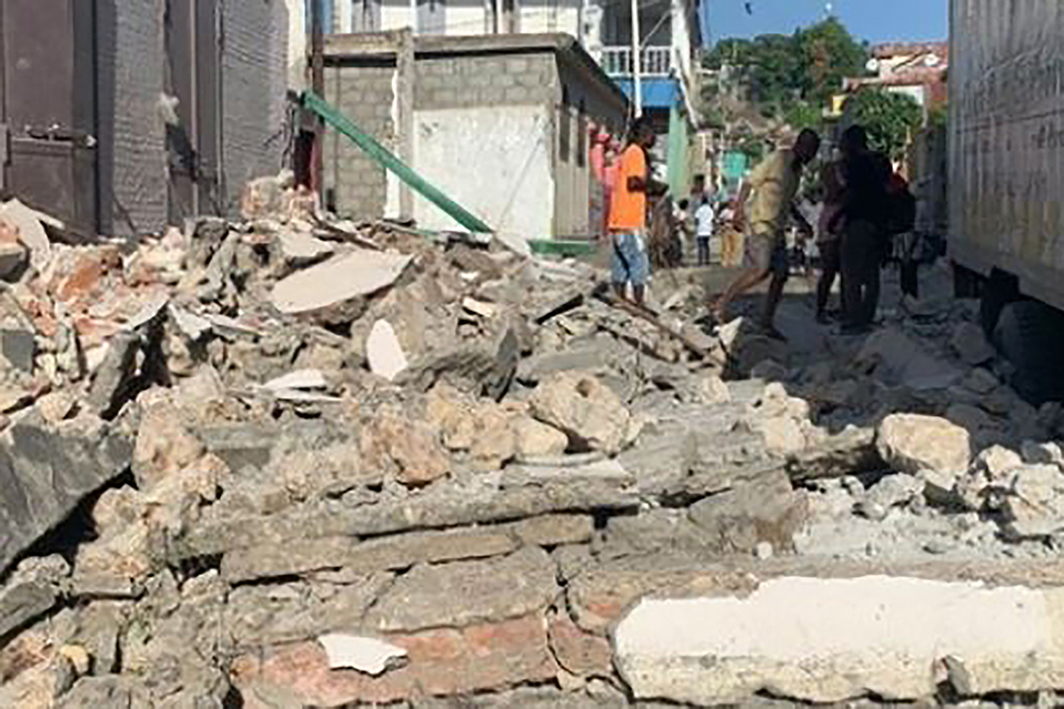 El terremoto se presentó este sábado.