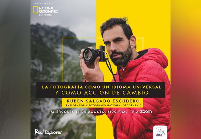 Fotógrafo de National Geographic abre charla gratuita en Costa Rica.