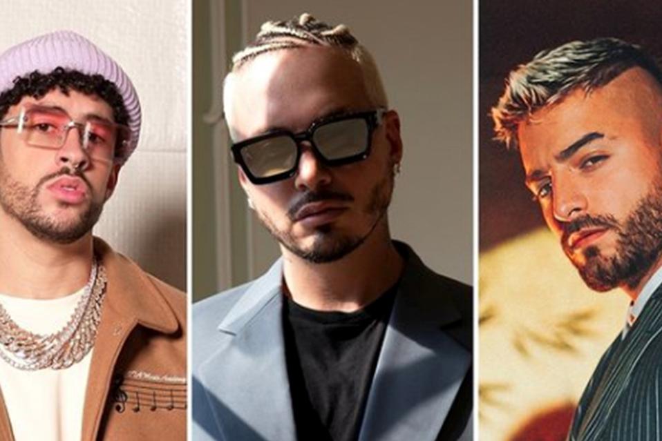 Ozuna, Camilo, Anuel AA y Rauw Alejandro son algunos de los artistas nominados. (Foto: Instagram @latinbillboards)