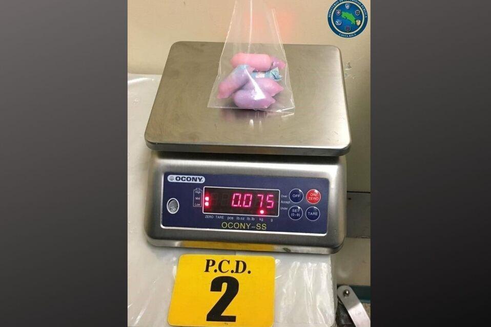445 gramos contenían los 37 óvulos
