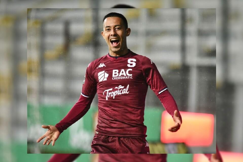 Jimmy Marín anotó un gol después de su recuperación del Covid-19