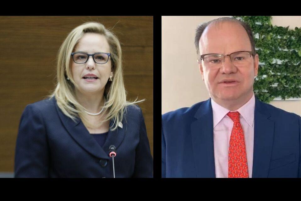 Catana Crespo le solicita a Elián Villegas que aclare porque la molestia con la disminución del marchamo